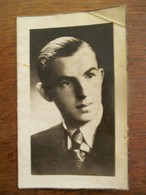 Doodsprentje   PIERRE  VAN  CAUWELAERT    Segant Bij Het 9 De Linieregiment    Ternat - 1939-45