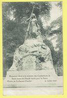* Sint Joost Ten Node - Saint Josse (Bruxelles) * (Henri Georges) Monument Combattants, Oeuvre Guillaume Charlier 1920 - St-Josse-ten-Noode - St-Joost-ten-Node