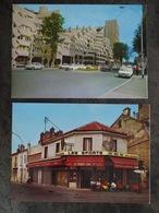 IVRY LES NOUVEAUX QUARTIERS AVENUE DE VERDUN LES SPORTS CAFE TABAC PMU LOT 2 CARTES - Ivry Sur Seine