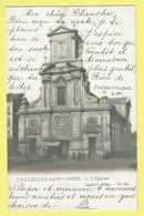 * Sint Joost Ten Node - Saint Josse (Bruxelles) * (Lagaert, Nr 235) L'église, Kerk, Church, Animée, Rare, Old, Unique - St-Josse-ten-Noode - St-Joost-ten-Node