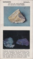 POSTCARD - MINERAL  - THE GEOLOGICAL SOCIETY OF AMERICA -  SIMPSONITE - Minéraux & Fossiles