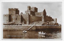 Ferry To Peel Castle, Isle Of Man - Valentine  R 1210 - For Clark & Sons, Peel - Isle Of Man