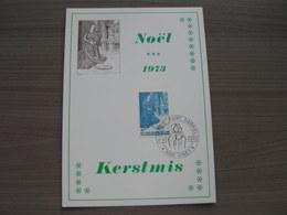 """BELG.1973 1688 Filacard FDC Ciney  """" Kerstmis-Noël """" - 1971-80"""