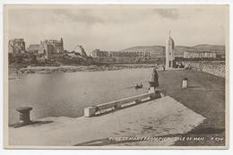 Port St Mary From The Pier, Isle Of Man. - Valentine  Sepiatype R 294 - Isle Of Man