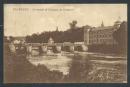 +++ CPA - FLOREFFE - Déversoir Et Château De Dorlodot - Cachet Timbre Taxe  // - Floreffe