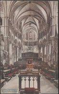 Choir East, Canterbury Cathedral, Kent, 1919 - Photochrom Postcard - Canterbury