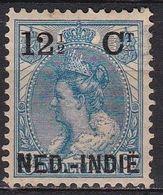 Ned. Indië: 1900 Hulpuitgifte Zegels NL Overdrukt In Zwart 12½ / 12½ Ct  NVPH 32 Ongestempeld - Indes Néerlandaises