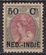 Ned. Indië: 1900 Hulpuitgifte Zegels NL Overdrukt In Zwart 50 / 50 Ct  NVPH 36 Ongestempeld - Indes Néerlandaises
