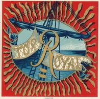 1893-1894 étiquette Pour Boite à Cigare Havane TOP ROYAL - Etiquettes