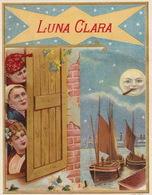 1893-1894 étiquette Pour Boite à Cigare Havane LUNA CLARA LUNE - Etiquettes
