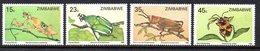 Zimbabwe 1987 Insects Set Of 4, MNH, SG 724/7 (BA) - Zimbabwe (1980-...)