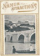 1893-1894 étiquette Pour Boite à Cigare Havane NAMUR ATTRACTIONS SIMON ET CHARLES - Etiquettes