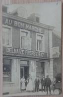 A Identifier - Photo Carte - Au Bon Marché - DELHAIZE FRERES & Cie - Attelage Livreur - Voir 3 Scans - Magasins