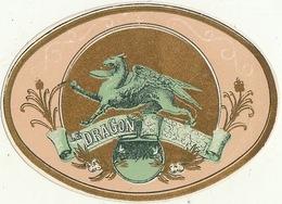 1893-1894 étiquette Pour Boite à Cigare Havane LE DRAGON - Etiquettes