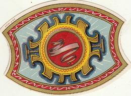 1893-1894 étiquette Pour Boite à Cigare Havane FLOR DE PLANTADORES - Etiquettes