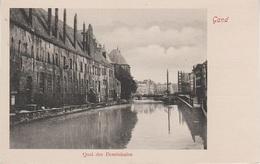 CPA - AK Gand Gent Quai Des Dominicains Predikherenlei Eglise Cathedrale Canal Vlaanderen Flandern Belgien Belgique - Gent