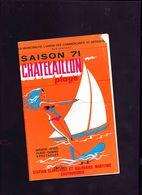 Chatelaillon Plage Saison 1971 - Dépliants Touristiques