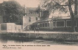 CPA - AK Gand Gent Le Donker Poorte Lieu De Naissance De Charles Quint Canal Vlaanderen Flandern Belgien Belgique - Gent