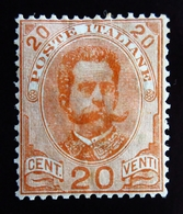 1895 Italie  Yt 60 . Effigy Of Umberto I Within An Oval . Trace Charnière - 1878-00 Humbert I