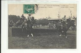 Vendome, Course Du 10 Juillet 1910, Chevaux, (port + Frais TTc 1,30 En + - Vendome