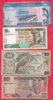 Sri Lanka 10 Billets Dans L 'état Lot N °1 - Sri Lanka