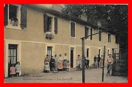 CPA (40) SAINT-VINCENT-de-TYROSSE.  Cité Georges, Animé, Vélos...S896 - Saint Vincent De Tyrosse