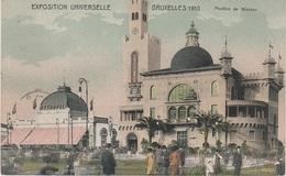 CPA - AK Brüssel Bruxelles Pavillon Paviljoen Monaco Metropole Weltausstellung Exposition 1910 Laeken Laken Heyselpark - Laeken
