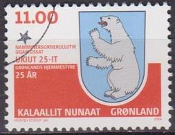 Autonomie - GROENLAND - Armoiries Avec Ours Polaire - N° 393 - 2004 - Groenland