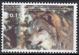 Kosovo 2004 (MNH) - Wolf (Canis Lupus) - Chiens
