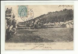 Chaumont, Saut De Haie, Concours Hippique, Voyagée 1904 (port + Frais TTc 1,30 En + - Chaumont