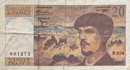 France 20 Francs, P-151i (1997) - Fine - 1962-1997 ''Francs''