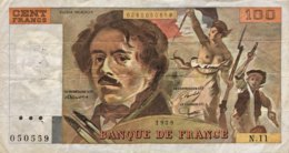 France 100 Francs, P-154a (1979) - Fine - 1962-1997 ''Francs''