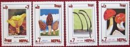 Nepal  1994   Mushrooms  4 V  MNH - Champignons