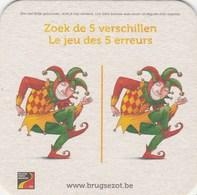 UNUSED BEERMAT - HALVE MANN BREWERY (BRUGES, BELGIUM) - BRUGSE ZOT - Bierviltjes