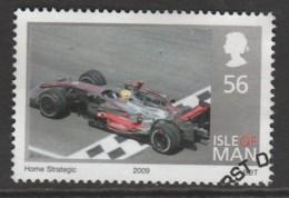 Isle Of Man 1961 2009 Winning Of The Formula 1 World Championship - Lewis Hamilton 56 P Multicoloured SW 1486 O Used - Isle Of Man