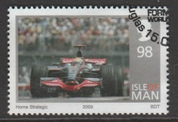 Isle Of Man 1961 2009 Winning Of The Formula 1 World Championship - Lewis Hamilton 98 P Multicoloured SW 1488 O Used - Isle Of Man
