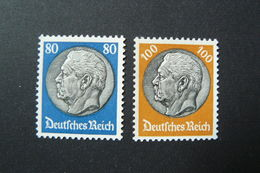 Allemagne - Empire - Yvert N° 497A & 498 Neufs ** (MNH) - Unused Stamps