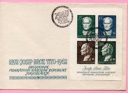 Cover - Josip Broz Tito / 25 Maj 1962., Zagreb, Yugoslavia - Storia Postale