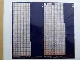 Microfiche Renault Espace J63-S63   9101>  Pr  1234  Lot De 2 - Stereoscopi