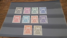 LOT 435057 TIMBRE DE FRANCE NEUF** LUXE - Postage Due