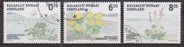 Flore, Plantes Comestibles - GROENLAND - Livèche D'Ecosse, Rhodiolarosea, Oxyria Dygna - N° 428-429-430 - 2005 - Groenland