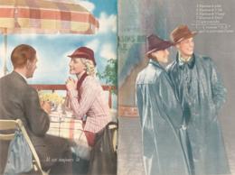 """Ancienne Publicité (1939) : MANTEAU """"M.K."""", Livret De 18 Pages, Textes, Nombreuses Photos, (13,5 Cm Sur 20 Cm) - Publicités"""