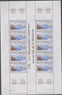 SAINT PIERRE ET MIQUELON 1 Feuille 10 T N°YT 579 Date 10.5.93 - Iles De La Madeleine - St.Pierre & Miquelon