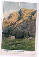 039 E.T.Compton Tutzinger Hütte Benewand Künstlerkarte - Tutzing