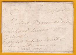 1749 - Lettre Avec Correspondance De 2 Pages De Saint Flour, Cantal Vers Brignoles, Var - Règne De Louis XV - 1701-1800: Précurseurs XVIII