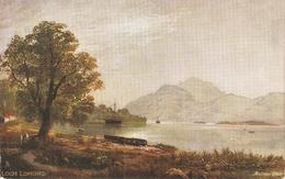 """Andrew Blair. Loch Lomond"" Tuck Oilette Dcottidh Lohs Series PC # 7166 - Tuck, Raphael"