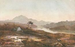 """Andrew Blair. Loch Achray With Ben Venue"" Tuck Oilette Dcottidh Lohs Series PC # 7166 - Tuck, Raphael"
