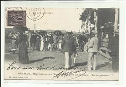 LOT - Cpa Gramat, Hippodrome, Jour De Course, Animée, Voyagée 1901 (port + Frais TTc 1,30 En + - Gramat