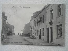 4 Cpa Retinne Ste-julienne Hasard Thier Place Gare - Fléron