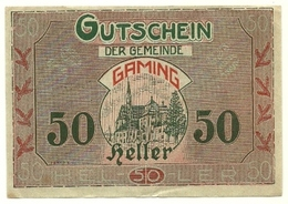 1920 - Austria - Gaming Notgeld N81 - Austria